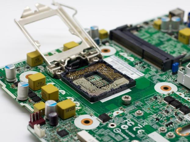 Uszkodzone gniazdo procesora